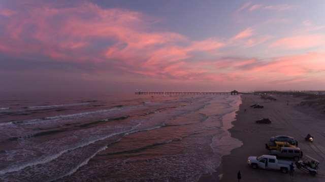 Padre Island Beautiful Sunset