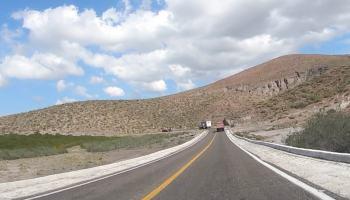 4K Driving Time-lapse in Baja California, Mexico - From La Paz to Playa Balandra