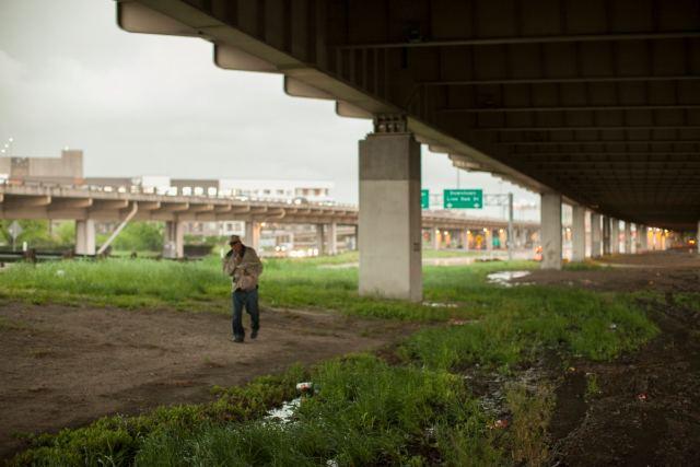 Freedom/Poverty by Matthew T Rader