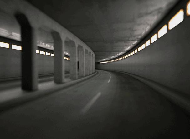 Thomas Demand - Tunnel, 1999