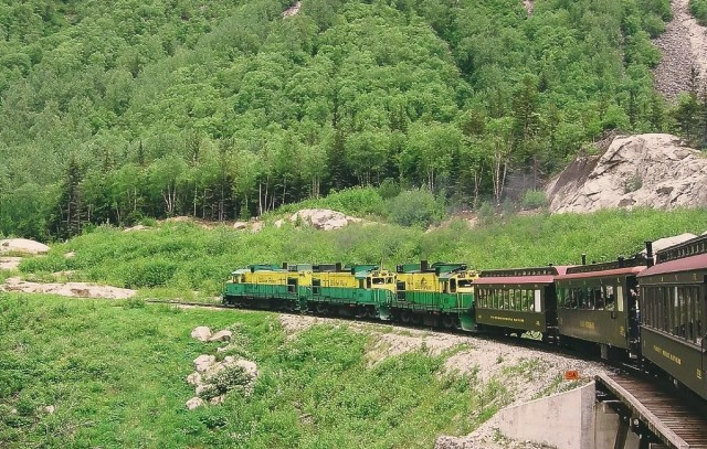 Alaska Train Ride