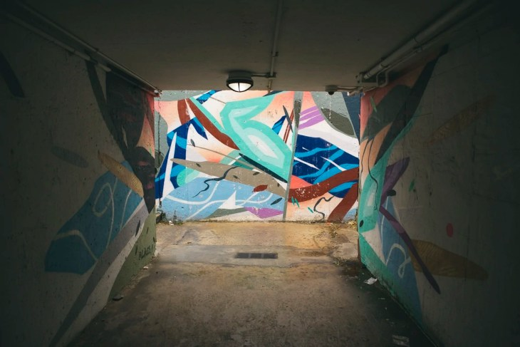 Mural by Chicago Beach