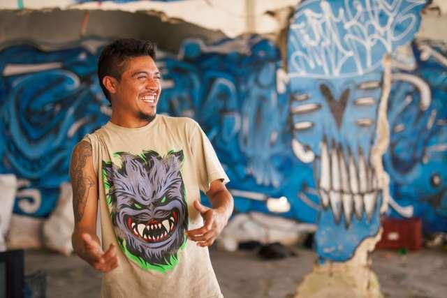 Street portrait in Cozumel
