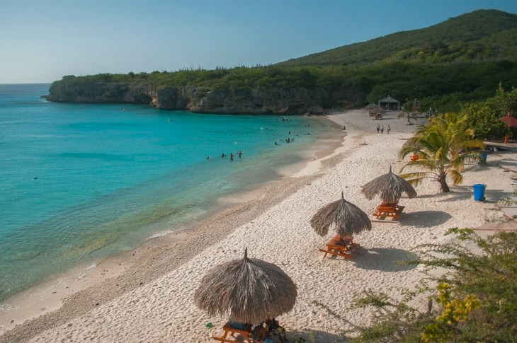 Playa Kenepa Grandi (Knip Beach) in Curaçao