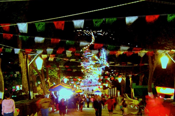 San Cristobal, Chiapas at Night