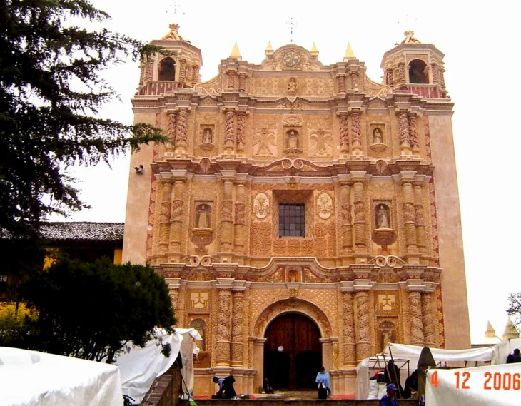 Santo Domingo Church in San Cristobal, Chiapas