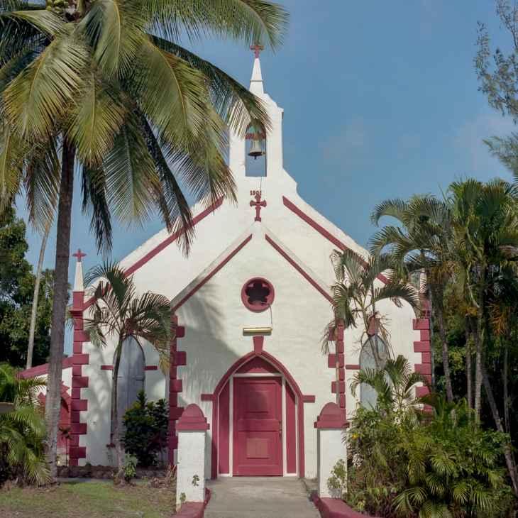 A church in St. Lucia