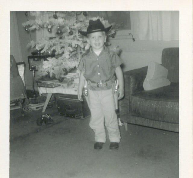 My Dad In Cowboy Hat