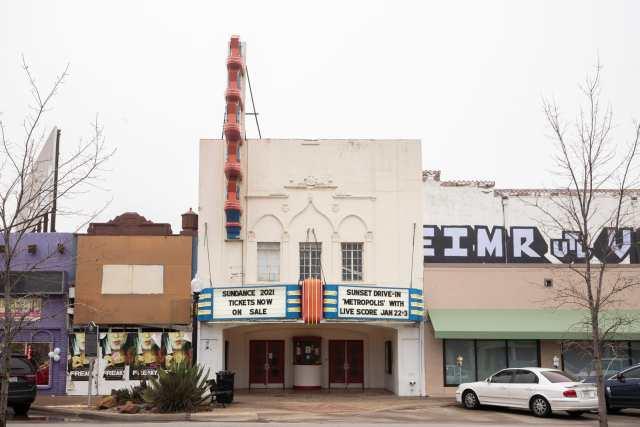 Texas Theater in Oak Cliff, Dallas