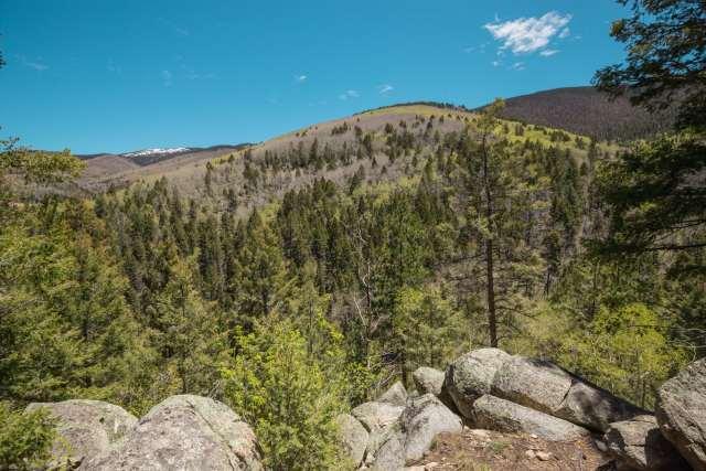 Sangre de Cristo Mountains in New Mexico in Santa Fe, New Mexico