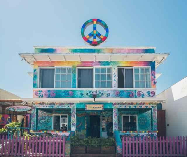 Peace Hostel at Ocean Beach