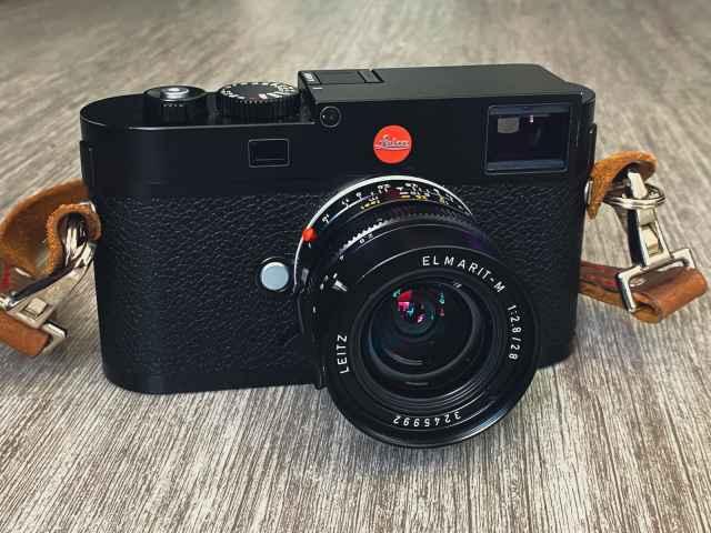 Leica M262 front with a Leitz 28mm Elmarit lens