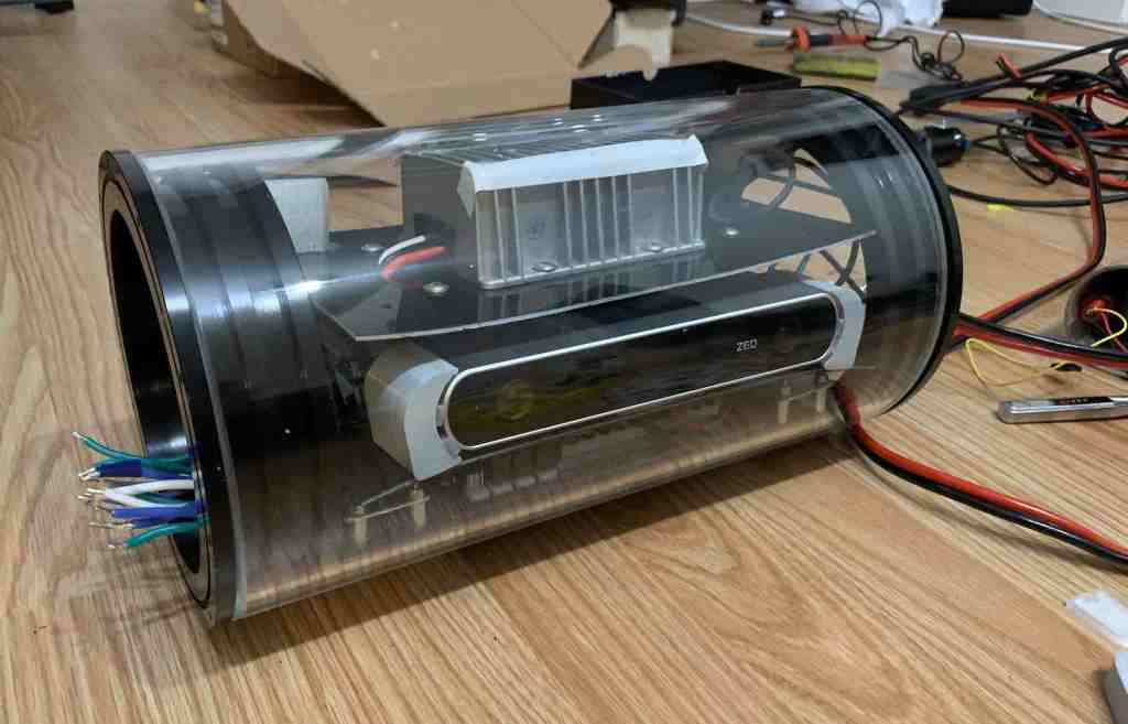auv 2019 tube assembly
