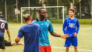 Champions ohne Grenzen - Fußball für Flüchtlinge