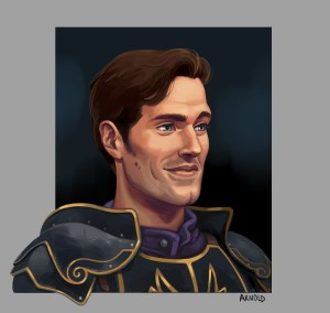 illustration personnage chevalier