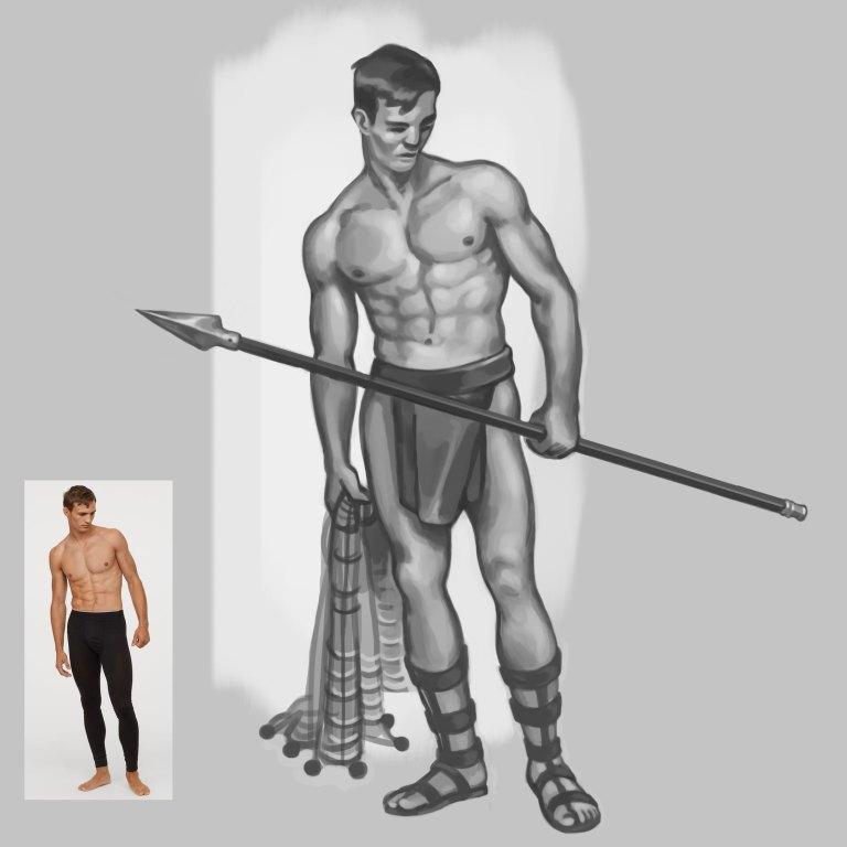 gladiateur illustration