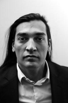 Portrait à l'atelier 154. Paris, 2008
