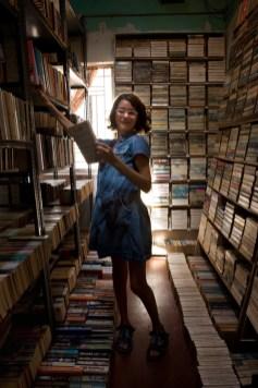 Camille chez le libraire. Cochin, 2008