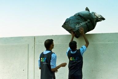 trash managment. india, 2009