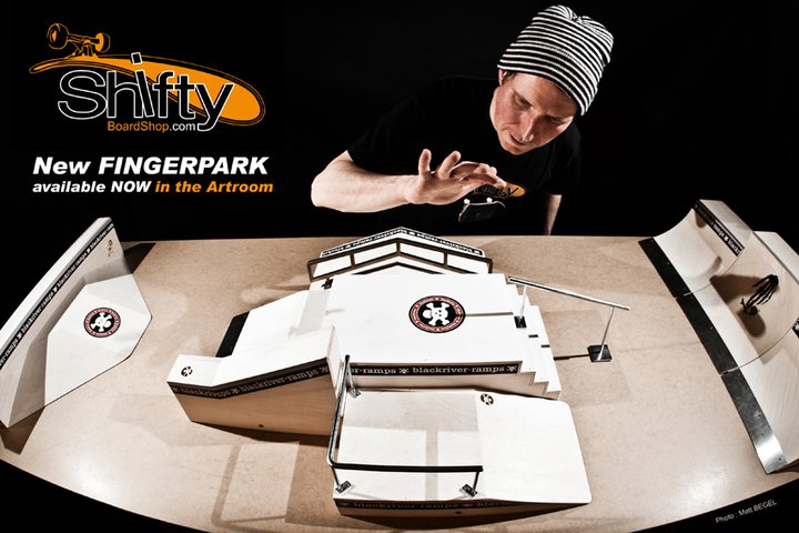 New Fingerpark Blackriver available @Shifty Boardshop
