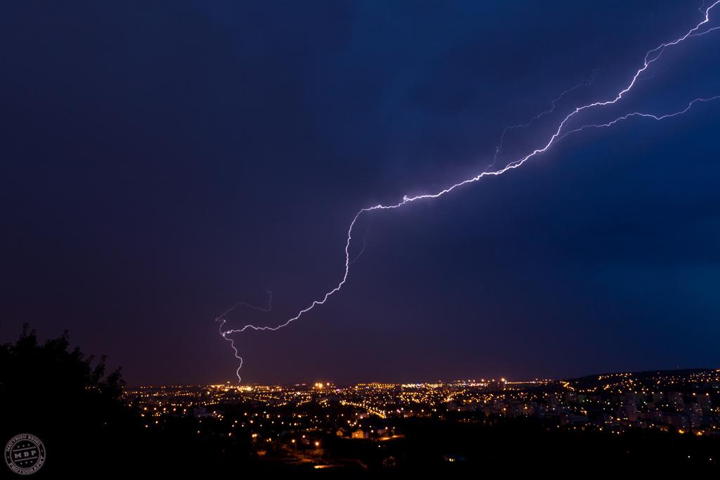 Thunderstorm – Dijon sous les éclairs