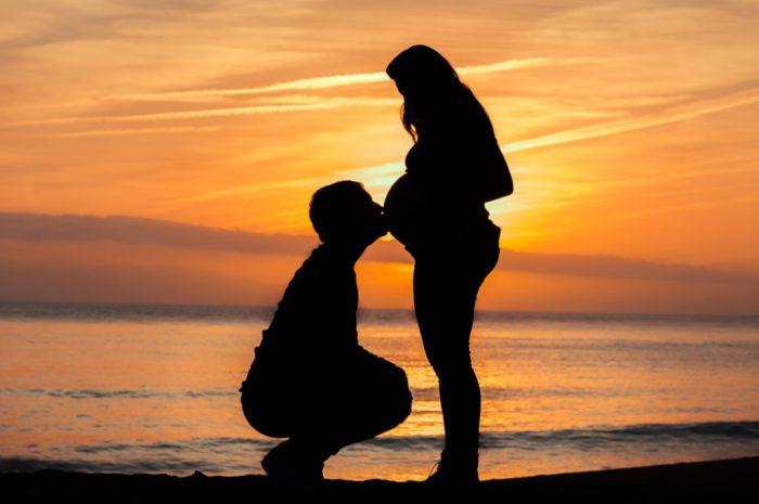 séance photo de grossesse à st nazaire
