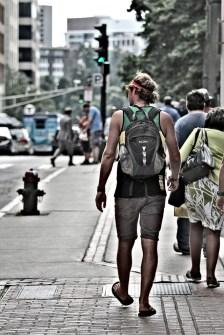 Backpacking Boston