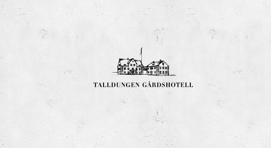 Logotyp till Talldungens Gårdshotell