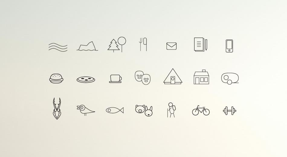 Illustrationer / ikoner till Mötesplats Borstahusen
