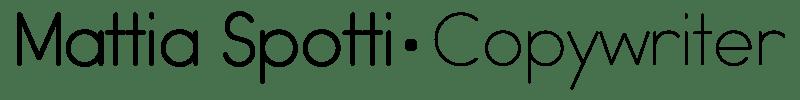 Mattia Spotti | Copywriter