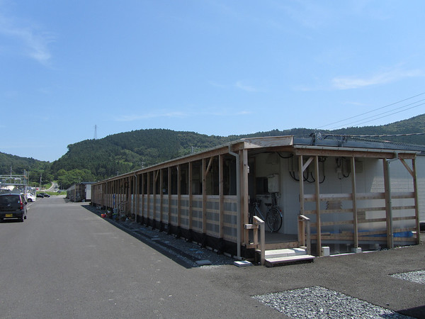 Temp housing Ishinomaki