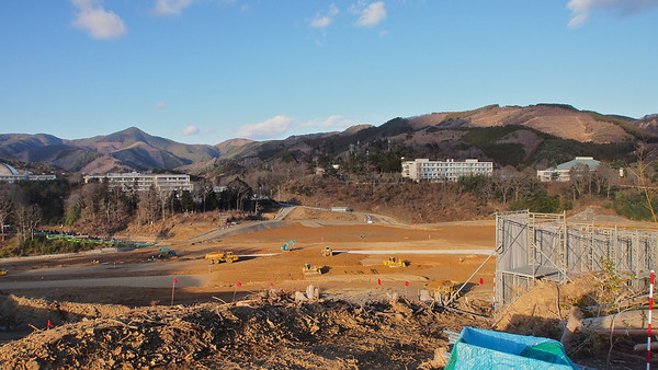 Onagawa station construction