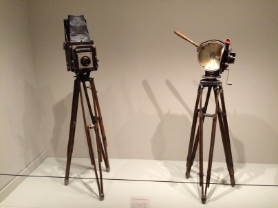 Paul Strand's still and video cameras at the Philadelphia Museum of Art