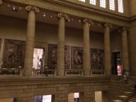 Columns inside the musem