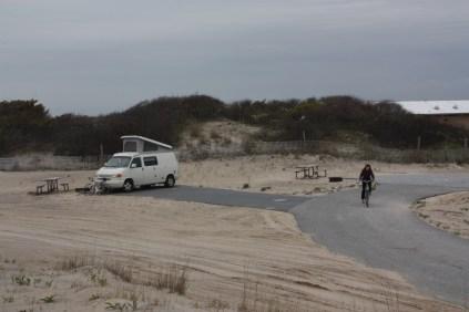 Assateague bike ride matt langley pam langley eurovan travels