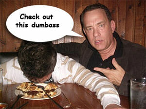 Tom-hanks-guy-passed-out-in-food