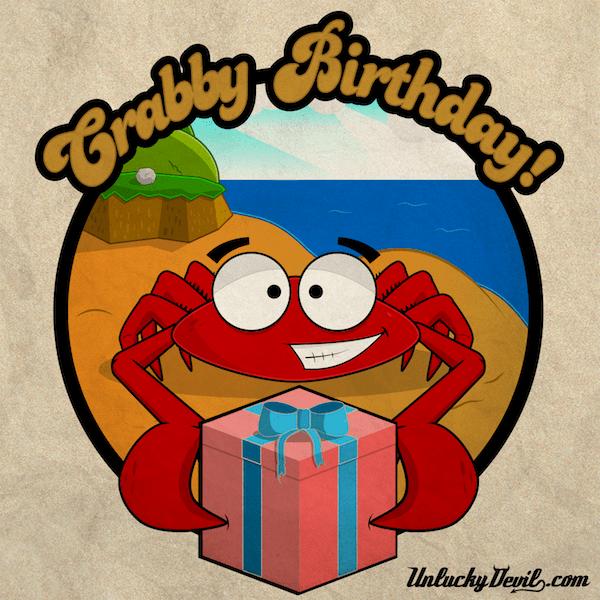 Crabby Birthday