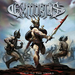 exmortus slave to the sword album cover