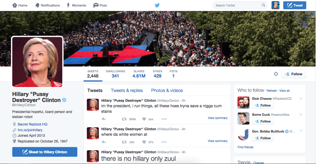 Proof That Hillary Clinton Is A Lizard Person