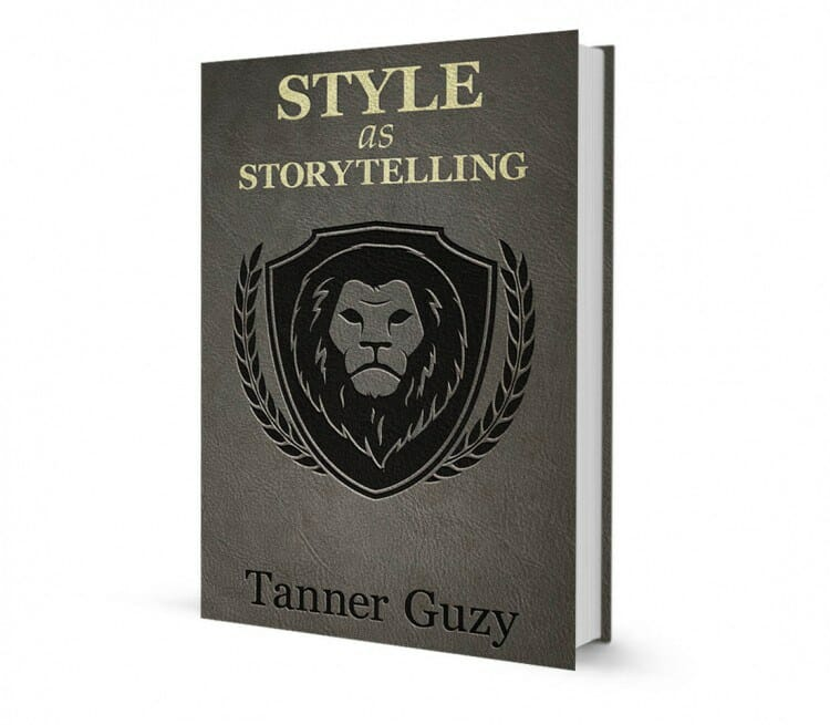 """Book Cover & Review: """"Style As Storytelling"""" by Tanner Guzy"""