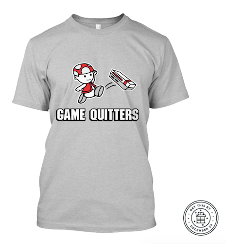 Game Quitters t-shirt