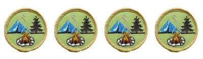 boy scout campfire merit badges