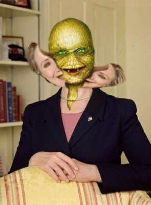 hillary clinton is a lizard person