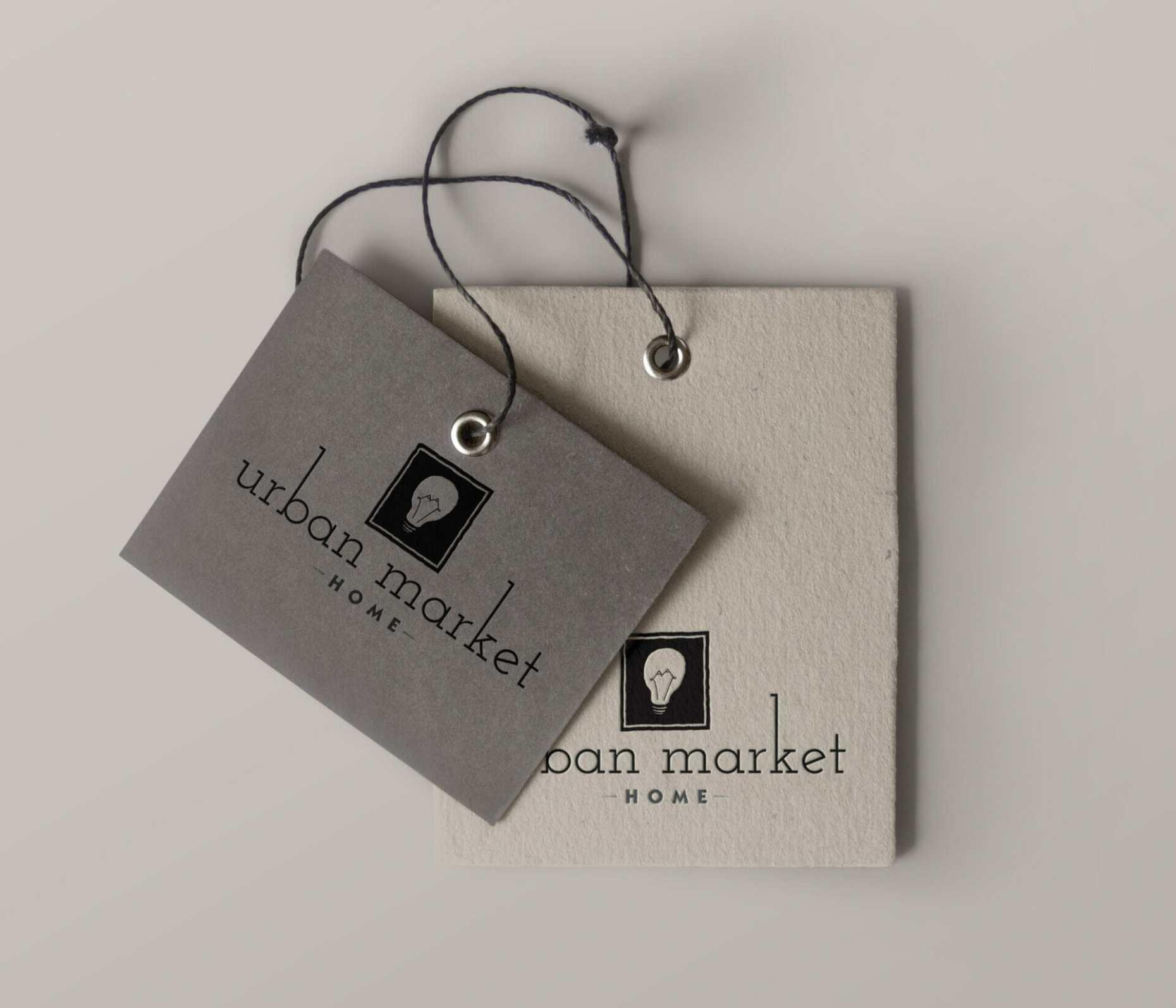 Urban Market labels