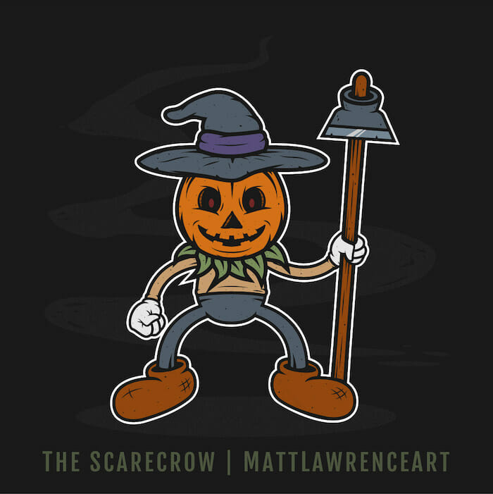 The Scarecrow - Matt Lawrence Art
