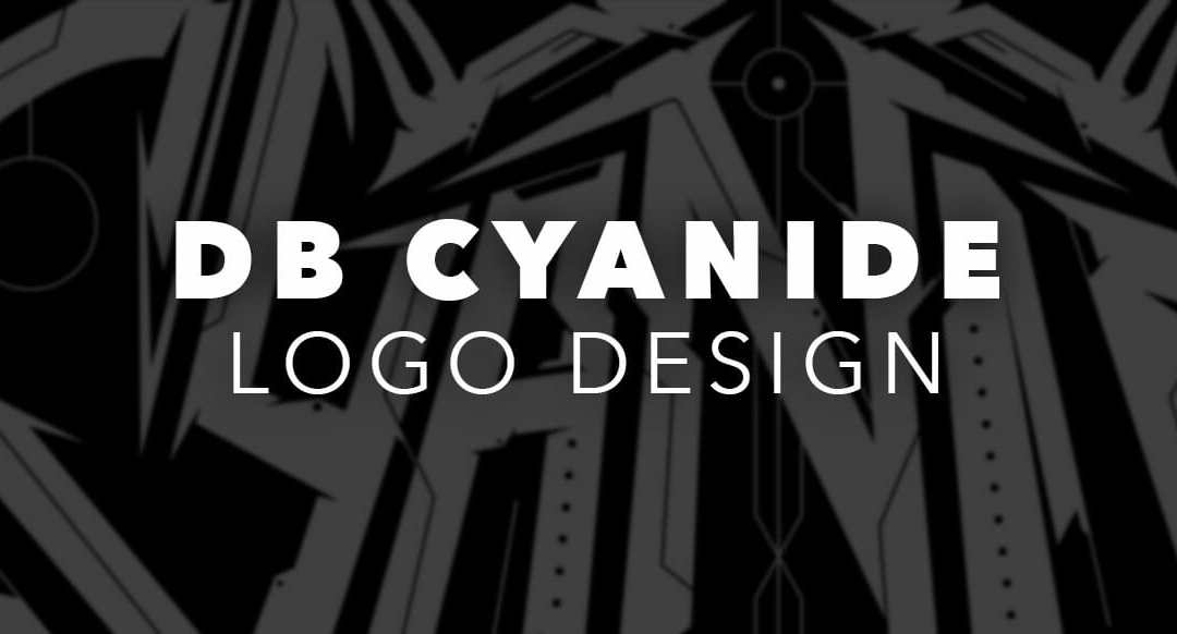 DB Cyanide Custom Cyber/Tech Logotype