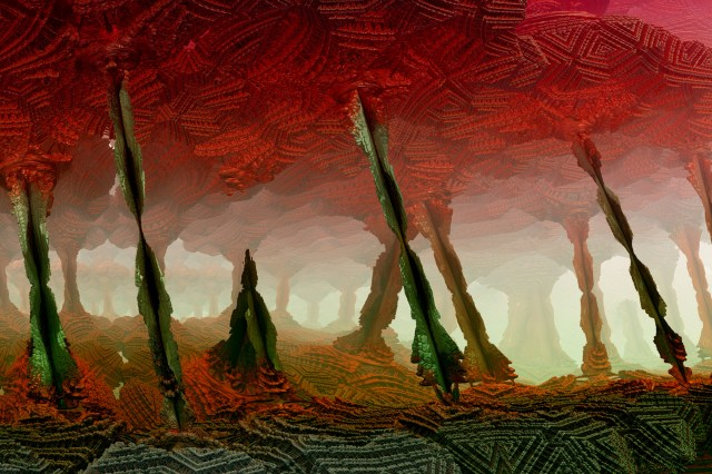 fractal art Cavern