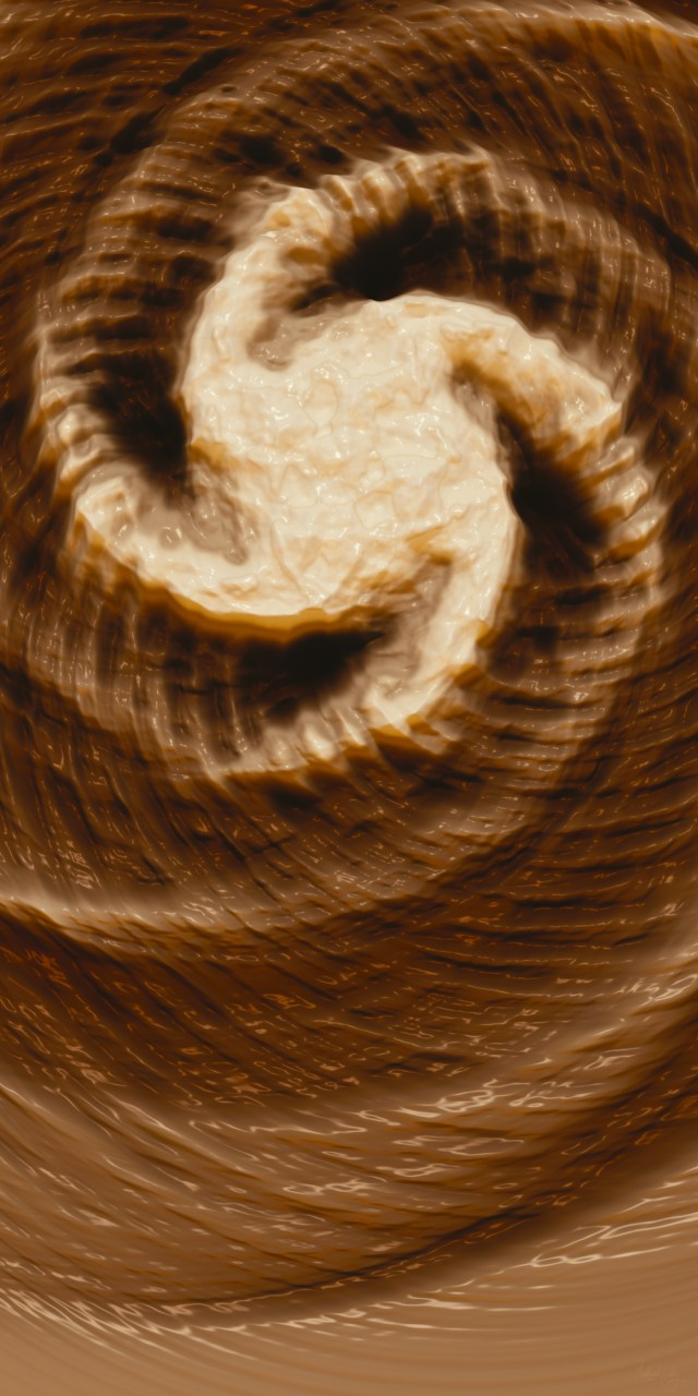 Abstract Waves | Milk Effects No4