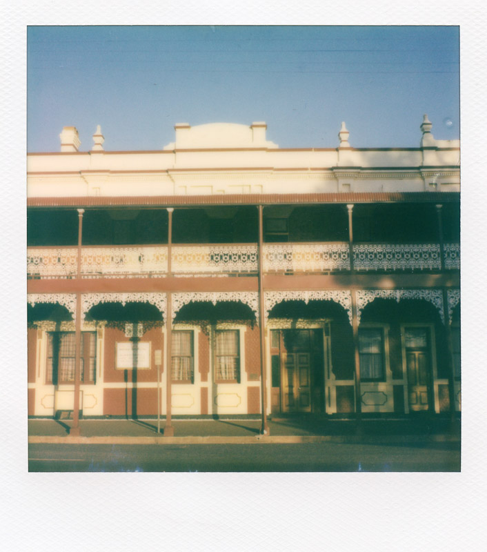 Polaroid images of Australia
