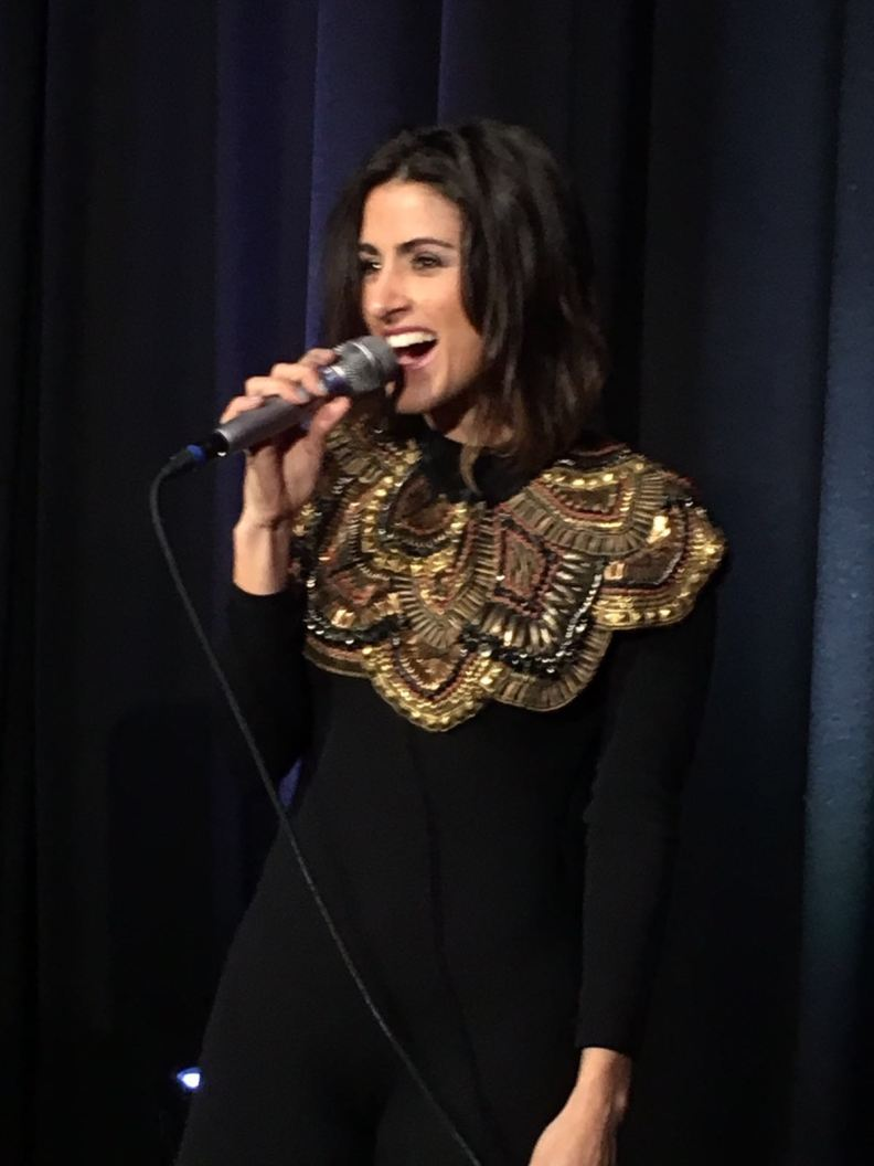 Barei from Spain at Eurovision in Concert after party